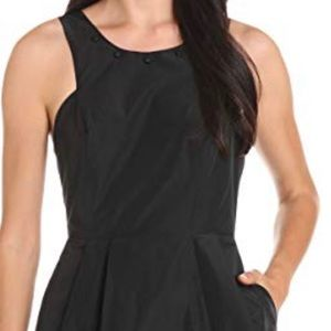 BCBG Generation Black Sleeveless Cocktail Dress